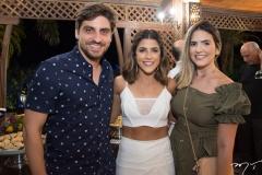 Rodrigo Mesquita, Clarissa Aguiar e Renata Rolim