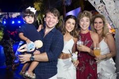 Sara e Paulo Porto, Clarissa Aguiar, Marih Naser e Germana Cavalcante