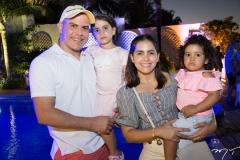 Walter, Geovana, Nathalia e Gisele Fernandes