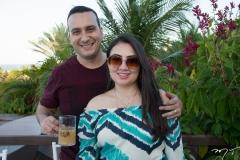 Yuri Arruda e Juliana Aragão