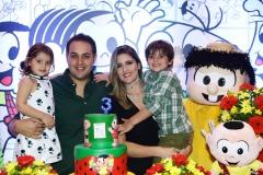 Athina, Bruno, Rebeca e Henri Bastos