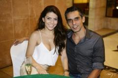 Danielle Freire e Ernesto Alcântara