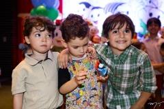 Gabriel Pinheiro, Sylvinho Leal e Henri Bastos