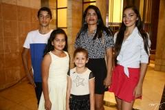 Igor, Carol Gomes, Lúcia Santos, Antônia Yasmin e Bruna Santos