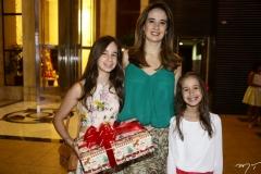 Lara, Gisele e Mel Castro