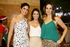 Magali Lima, Danielle Freire e Gisele Castro
