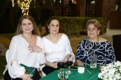 Morgana Dias Branco, Tadia Simas e Vera Castro