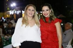 Morgana Dias Branco e Silvinha Leal