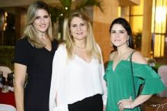 Rebeca Leal, Morgana Dias Branco e Marília Vasconcelos