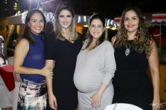 Sílvia Brandão, Rebeca Leal, Ana Paula Aragão e Gabriela Leal