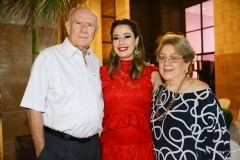 Sílvio de Castro, Silvinha Leal e Vera de Castro