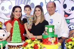 Silvinha, Sylvinho, Rebeca e Rafael Leal