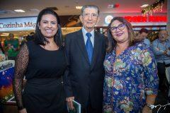 Cristina Moreira, Alberto Farias e Tânia Damasceno