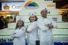 Fabiana Torres, Medeia Pereira e André Silva