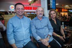 Tadeu Belfort,  Nonato Mota e Ana Lúcia Ximenes