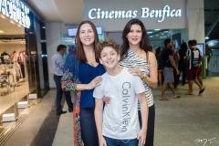 Alessandra Soares, Nicolas e Bela Martins