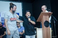 Halder Gomes, Bolachinha e João Soares Neto