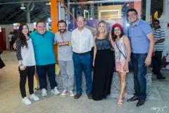 Kira Gomes, Renato Fontenele, Halder Gomes, João Soares Neto, Roberta Velmom, Solange Texeira e Reginauro Sousa