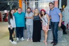 Kira Gomes, Renato Fontenele, Halder Gomes, Roberta Velmom, Solange Texeira e Reginauro Sousa