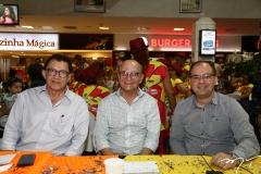 Elpídio Nogueira, João Soares Neto e Renato Borges
