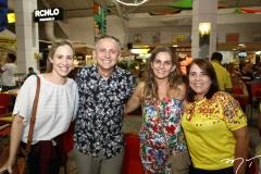 Lara Ramos, Evaldo Lima, Mônica Serpa e Thais Serrão