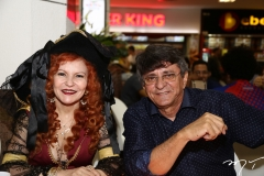 Lucinha Menezes e Pedro Sampaio
