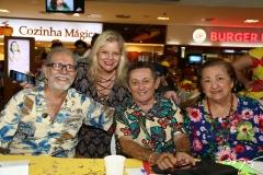 Walden Luis, Yane Caras, Cláudio Correia e Angélica Ellery