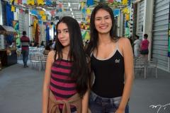 Victoria Araujo e Lorena Santos