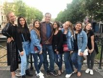 Beto Studart viaja pela Europa com família