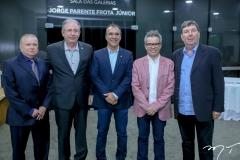 Alexandre Adolfo, Ricardo Cavalcante, Eduardo Neves, Fabiano Piúba e Heitor Studart