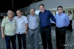 Aloisio Ramalho, Cláudio Targino, Roberto Sérgio, Roberto Ramos e Augustinho Alcantara