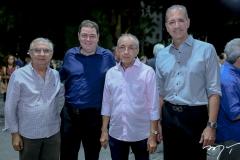 Álvaro Correia, Roberto Ramos, Frederico Castro e Regis Medeiros