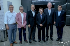 Assis Cavalcante, Fabiano Piúba, Beto Studart, Alci Porto, Ricardo Cavalcante e Airton Gonçalves