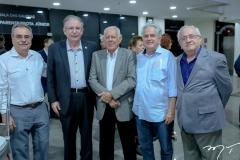 Assis Cavalcante, Ricardo Studart, Flávio Saboya, José Antunes e Eduardo Bezerra