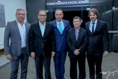 Cláudio Silveira, Beto Studart, Elano Guilherme, Alci Porto e Rodrigo Lima