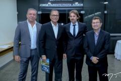 Cláudio Silveira, Beto Studart, Rodrigo Lima e Alci Porto