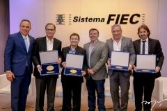 Elano Guilherme, Beto Studart, Alci Porto, Sérgio Veras, Cláudio Silveira e Rodrigo Lima
