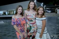 Elen, Vivian e Érica Guilherme