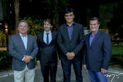 Henrique Caracas, Rodrigo Lima, Naomi Amorim e Manoel Trajano