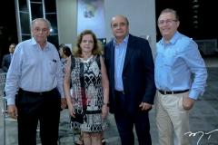 Jurandi Picanço, Roseane Medeiros, Fernando Crino e Joaquim Rolim