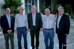 Luciano Holanda, Dinalvo Diniz, Ricardo Cavalcante, Marcos Soares e Chico Esteves