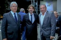 Manoel Holanda, Rodrigo Lima e Cláudio Silveira