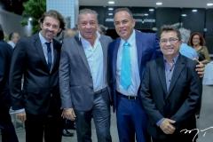 Rodrigo Lima, Cláudio Silveira, Elano Guilherme e Alci Porto