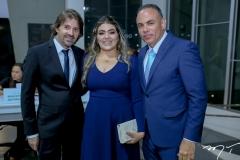 Rodrigo e Ana Lima e Elano Guilherme