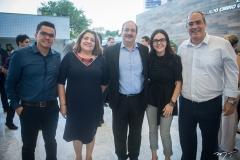Jeferson Oliveira, Aurinele Freire, Paulo André Holanda, Veridiana Soares e Eduardo Cavalcante