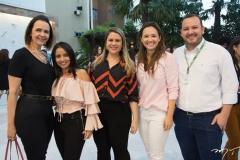 Mirian Pereira, Dana Nunes, Vanessa Portela, Caroline Teles E Arnaldo Cruz