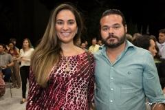 Rafaela Santiango e Demetrio Jorge