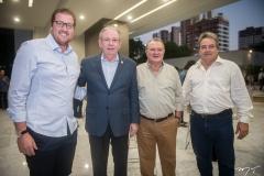 Sávio Bandeira De Melo, Ricardo Cavalcante, Marcos Bandeira De Melo e Valter Bardavio