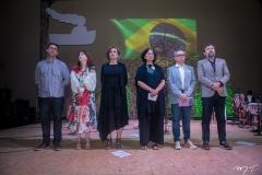 Carlos Vasconcelos, Inês Cardoso, Gorete Albuquerque, Ana Miranda, Fabiano Piúba E Élcio Batista