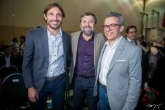 GUilherme Sampaio, Élcio Batista E Fabiano Piúba